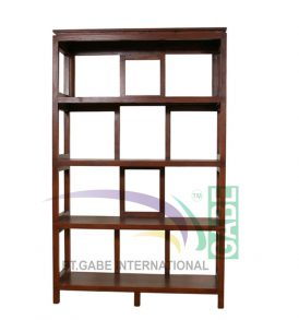 BOOK RACK HOUSTON TEAK