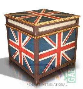 Box Peti Kayu Inggris