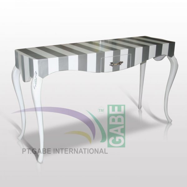 CONSOLE TABLE LUIS IX TWO TONE