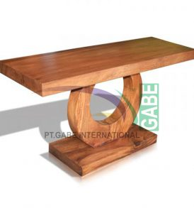 TABLE URN WOOD SUAR NATURAL