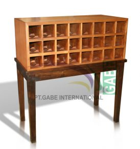 WINE RACK TABLE JATI