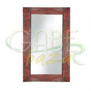 Mirror Kaca Rustik Antik Jati