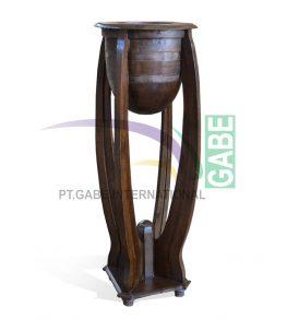 Pot Bunga Kayu Model China