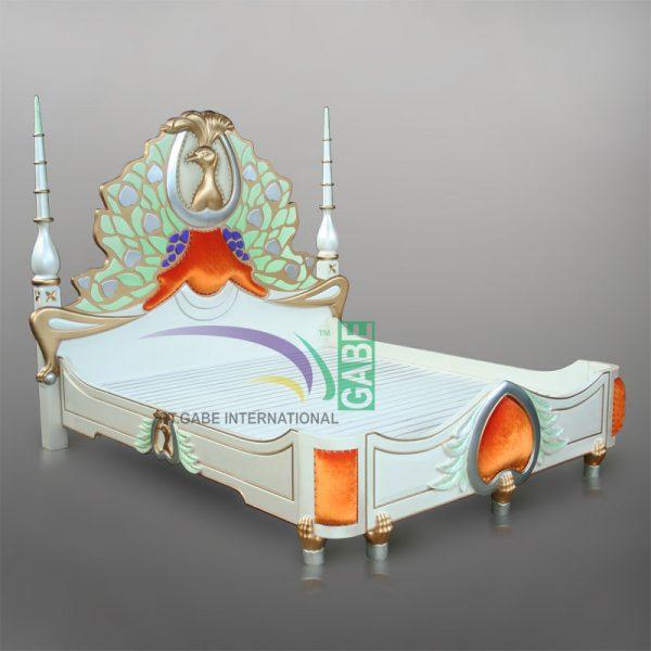 MERAK BED MAHOGANY